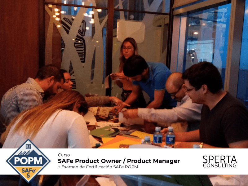 Curso SAFe para Product Owners y Product Managers de Sperta Consulting